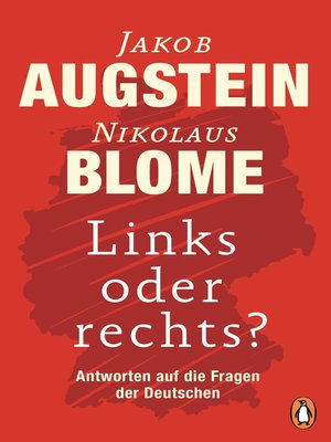 cover image of Links oder rechts?