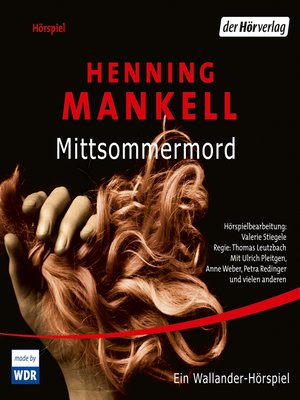 cover image of Mittsommermord