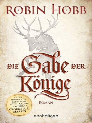 cover image of Die Gabe der Könige