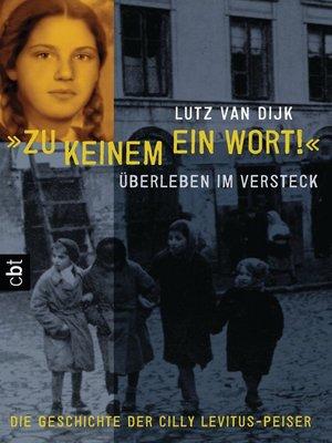 """cover image of """"Zu keinem ein Wort!"""""""