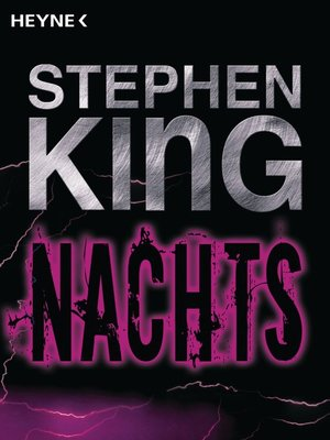 cover image of Nachts