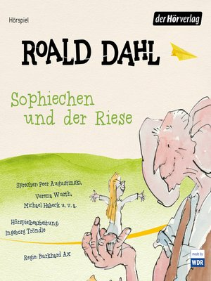 cover image of Sophiechen und der Riese