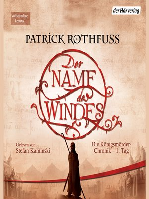 cover image of Der Name des Windes