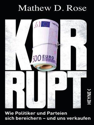 cover image of Korrupt?
