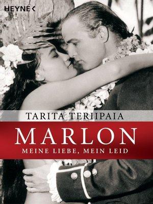 cover image of Marlon--meine Liebe, mein Leid