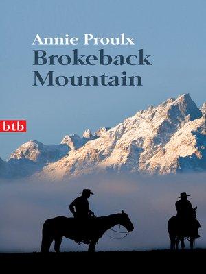 cover image of Brokeback Mountain