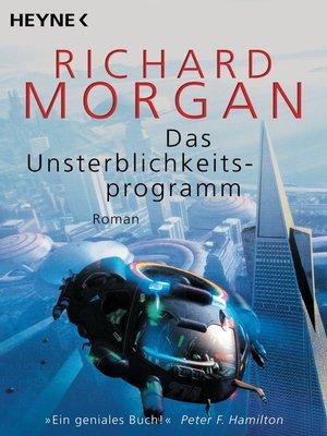cover image of Das Unsterblichkeitsprogramm
