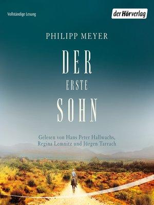 cover image of Der erste Sohn
