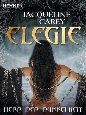 cover image of Elegie--Herr der Dunkelheit