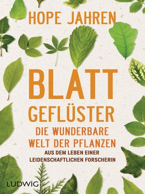 cover image of Blattgeflüster