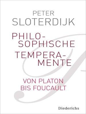 cover image of Philosophische Temperamente
