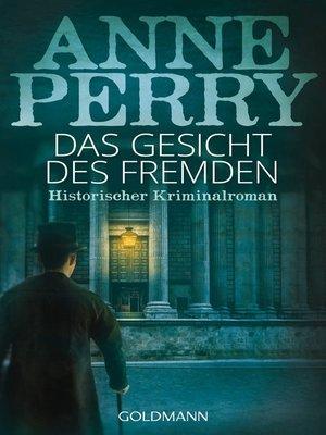 cover image of Das Gesicht des Fremden