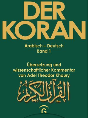 cover image of Muhammad--Der Koran--Sure 1,1--2,74