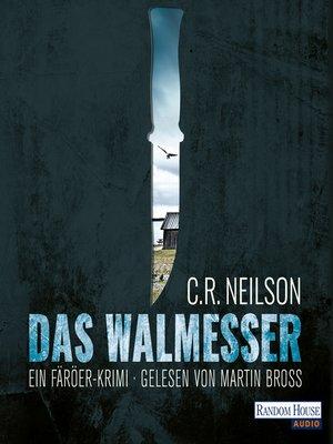 cover image of Das Walmesser