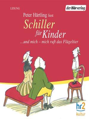 cover image of Schiller für Kinder