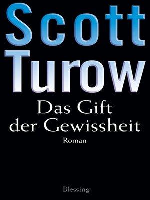 cover image of Das Gift der Gewissheit