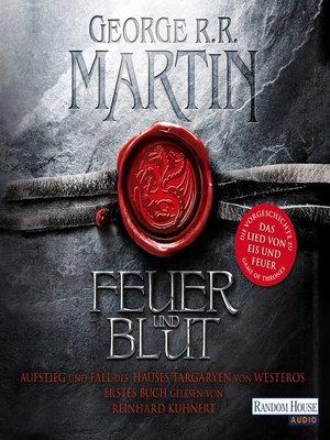 cover image of Feuer und Blut--Erstes Buch