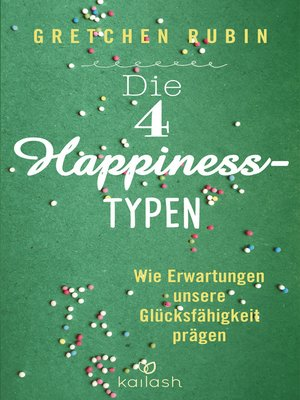 cover image of Die 4 Happiness-Typen