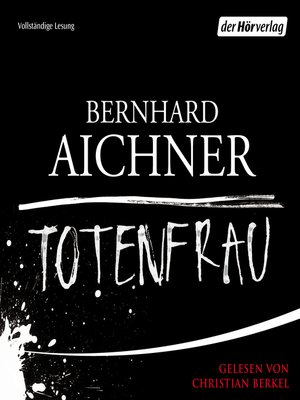 cover image of Totenfrau