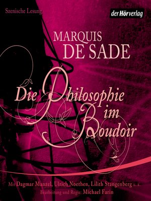 cover image of Die Philosophie im Boudoir