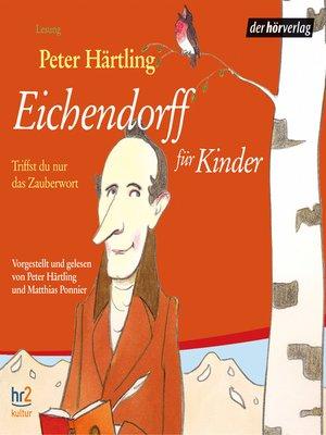 cover image of Eichendorff für Kinder