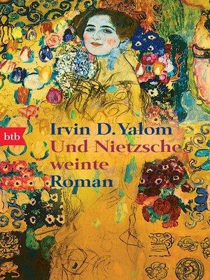cover image of Und Nietzsche weinte