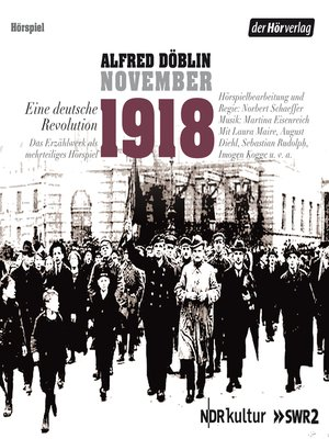 cover image of November 1918. Eine deutsche Revolution