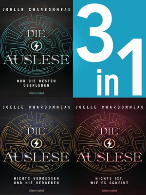 cover image of Die Auslese Band 1-3