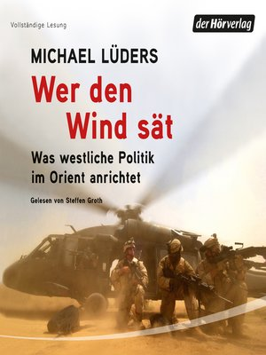cover image of Wer den Wind sät