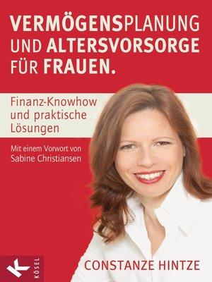cover image of Vermögensplanung und Altersvorsorge für Frauen