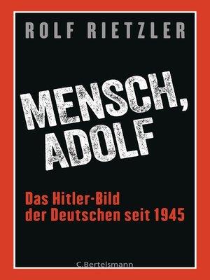 cover image of Mensch, Adolf