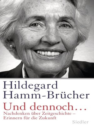 cover image of Und dennoch...
