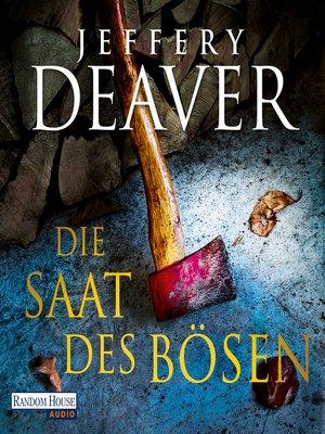 cover image of Die Saat des Bösen