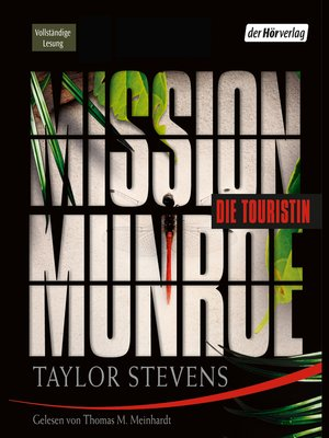 cover image of Mission Munroe. Die Touristin