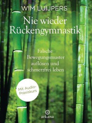 cover image of Nie wieder Rückengymnastik