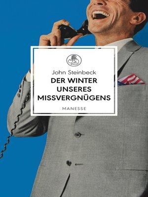 cover image of Der Winter unseres Missvergnügens
