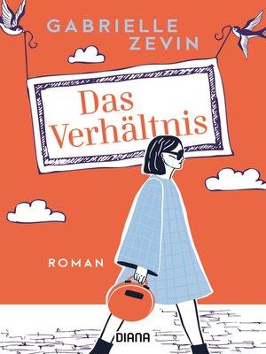 cover image of Das Verhältnis