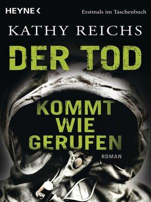 cover image of Der Tod kommt wie gerufen