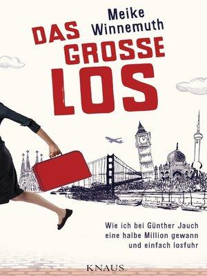 cover image of Das große Los