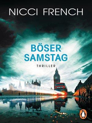cover image of Böser Samstag
