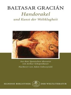 cover image of Handorakel und Kunst der Weltklugheit