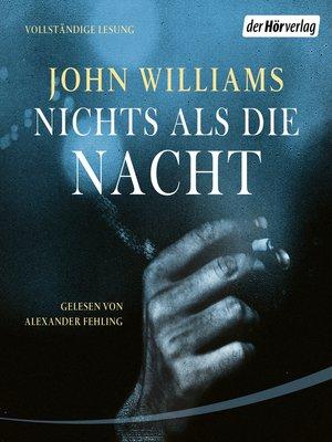 cover image of Nichts als die Nacht