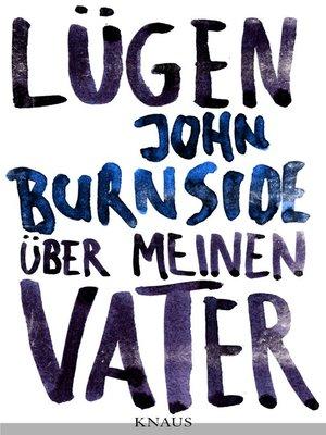 cover image of Lügen über meinen Vater
