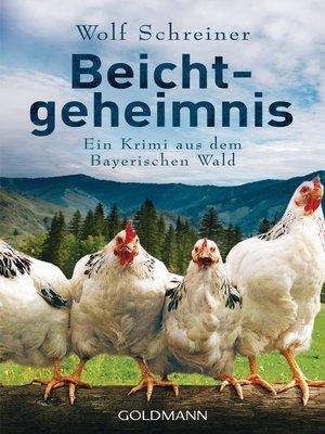 cover image of Beichtgeheimnis