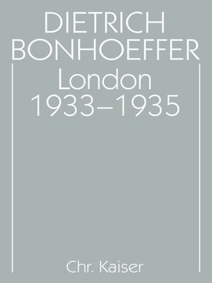 cover image of London 1933-1935