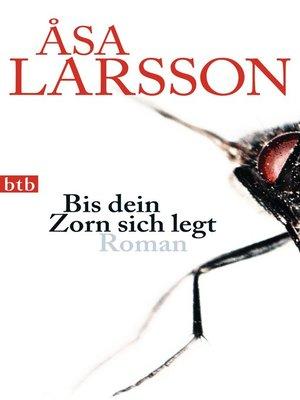 cover image of Bis dein Zorn sich legt
