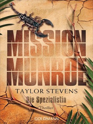cover image of Mission Munroe. Die Spezialistin