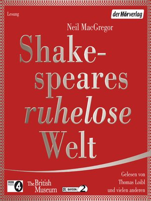 cover image of Shakespeares ruhelose Welt