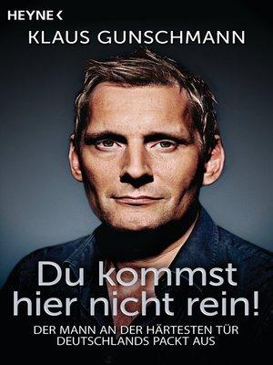 "cover image of ""Du kommst hier nicht rein!"""