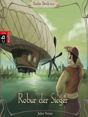 cover image of Robur, der Sieger